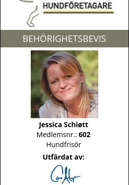 h-märkt Hundarnas Salong, Jessica Schiött